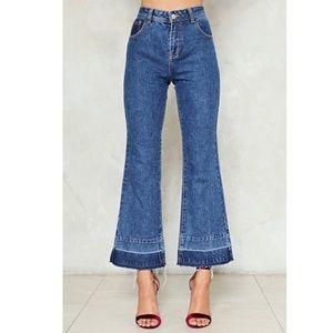 Nastygal Flare Jeans